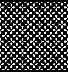 Geometric seamless pattern traversal figures vector