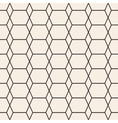Rhombus stripped seamless pattern vector image vector image