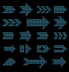 Light Bulb Arrow vector image