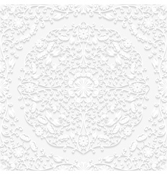 Seamless floral pattern in traditional style vector image