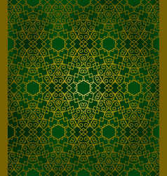 Abstract arabic pattern vector