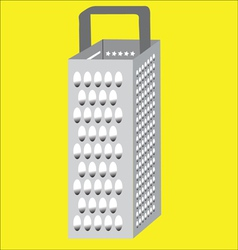 Kitchen tool box grater vector