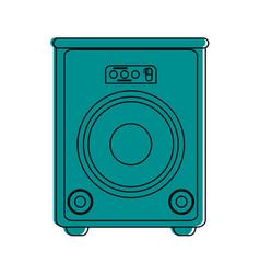 Stage speaker icon image vector