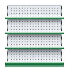 Supermarket rack vector