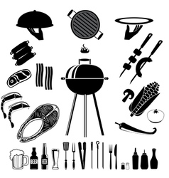 bbq and grill vector image vector image
