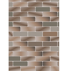 brick v vector image vector image