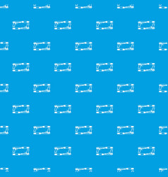Gun pattern seamless blue vector