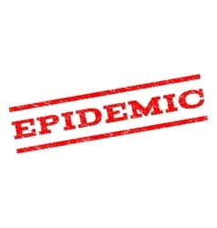 Epidemic watermark stamp vector
