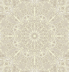 Paisley cream background vector