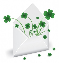 St Patrick's Day design vector image