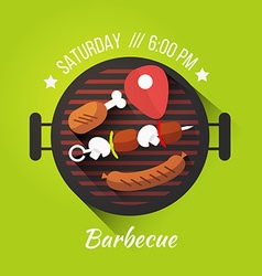 Barbecue concept vector