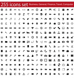 Icons set vector