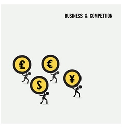 Business competition idea concept vector