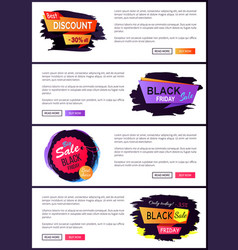 best discount -30 off set vector image vector image