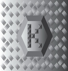 K text aluminium wallpaper vector