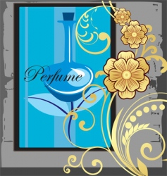 perfume advert vector image