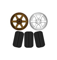 Te37 max wheel equipment car parts propel vector