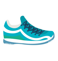Tennis shoe isolated icon vector