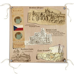 Czech republic - pictures of life sights vector