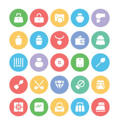 Clothes icons 17 vector