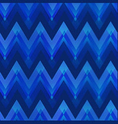 dark blue color zigzag seamless pattern vector image