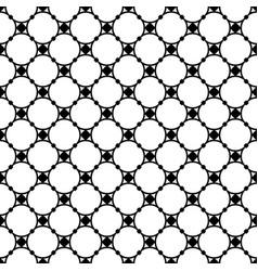 seamless pattern circles and nodes thin mesh vector image