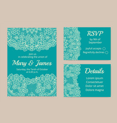 Set of cards vector