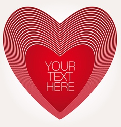 heart icons symbols valentine vector image