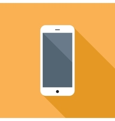 Smartphone flat icon vector