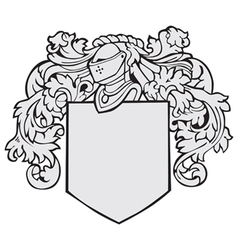Aristocratic emblem no18 vector