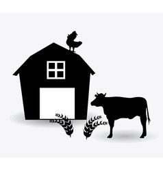 Farm design vector