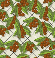 Coffee brunch pattern vector