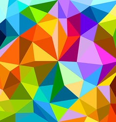 Abstract background of different color figures vector
