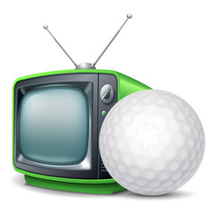 Golf channel vector