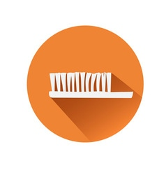 Toothbrush symbol vector image
