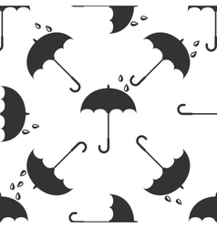 Umbrella icon pattern vector image