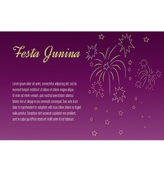 Festa junina elements vector