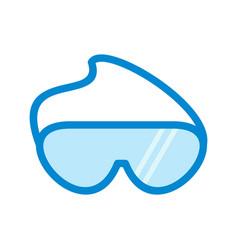 Goggles vector