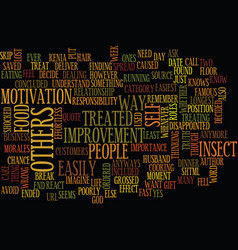 Your responsibility text background word cloud vector