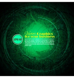 Background abstract green texture vector