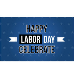 Background labor day celebrate style vector