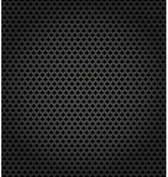 Metallic surface gray dark background vector