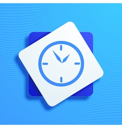 watch vector image vector image