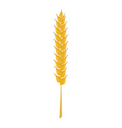 wheat ear icon cartoon style vector image vector image