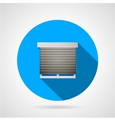 Window flat icon vector