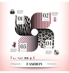 Fashion concept graphic element vector