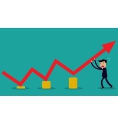 Image of businessman vector image