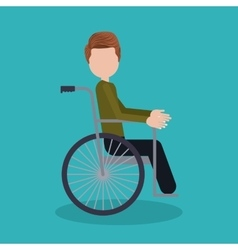 disability rights design vector image