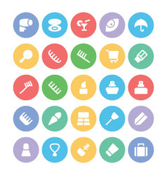 Clothes Icons 15 vector image
