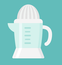 Han juicer flat icon household and appliance vector